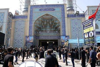 مراسم عزاداری روز تاسوعای حسینی در کرمان