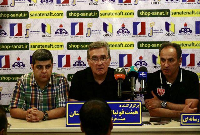زمان نشست خبری برانکو و منصوریان مشخص شد