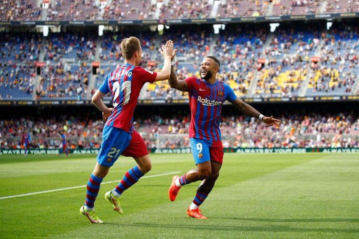 برتری خانگی بارسلونا مقابل ختافه/ ببینید