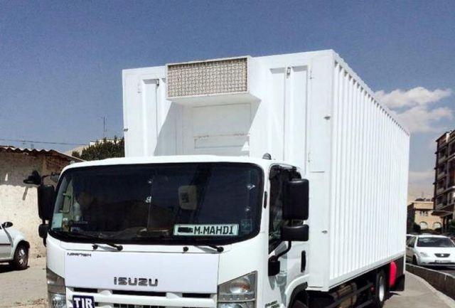 کشف محموله 1600 کیلوگرمی مرغ احتکار شده در کامیون