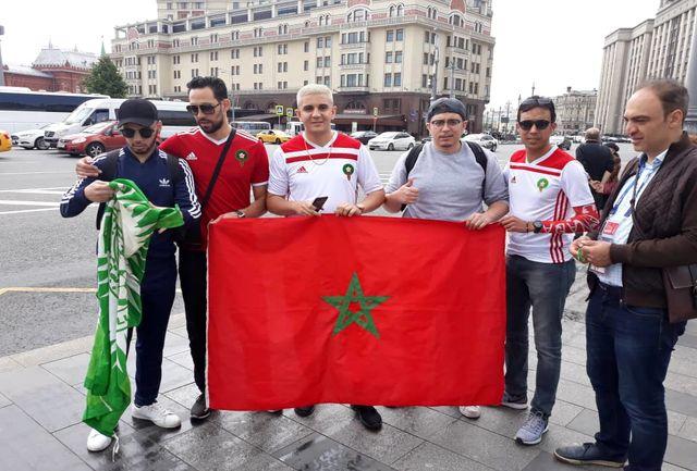 علاقه خاص هوادار مراکش به علی دایی و پرسپولیس