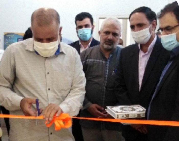 افتتاح نمایشگاه هنرهای تجسمی به مناسبت هفته مبارزه با مواد مخدر