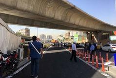 پل تقاطع ارتش - امام علی(ع) به بهره بردای رسید