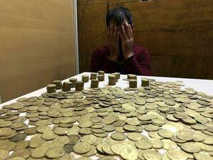 کشف سکههای ۳۰۰۰ ساله در تهران