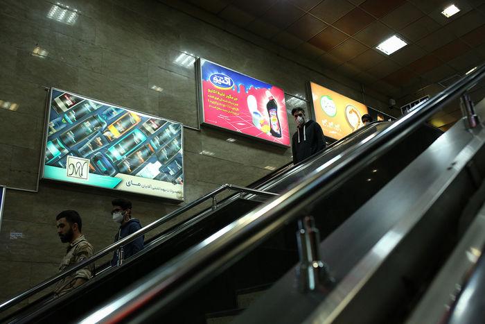 خودکشی در مترو تهران