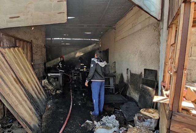 آتشسوزی گسترده در حوالی فرودگاه «بن گوریون»