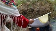 """پخت """"نان یوخا"""" در خراسان شمالی؛ مهارتی که میراث ملی شد"""