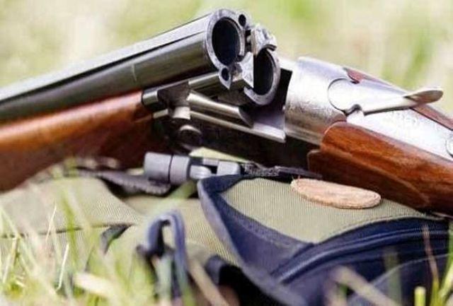 کشف 10 قبضه سلاح شکاری غیرمجاز در آق قلا