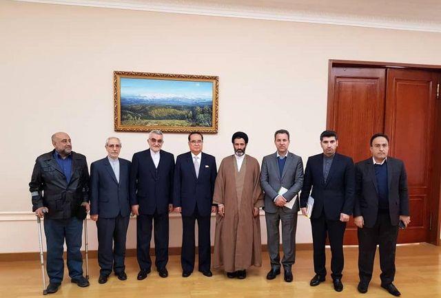 هیات دوستی ایران با معاون رهبر کره شمالی دیدار کرد