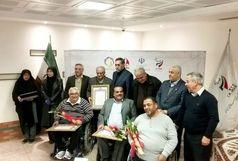 چهار ورزشکار پارالمپیک یادبودهایشان را به موزه ملی ورزش اهدا کردند