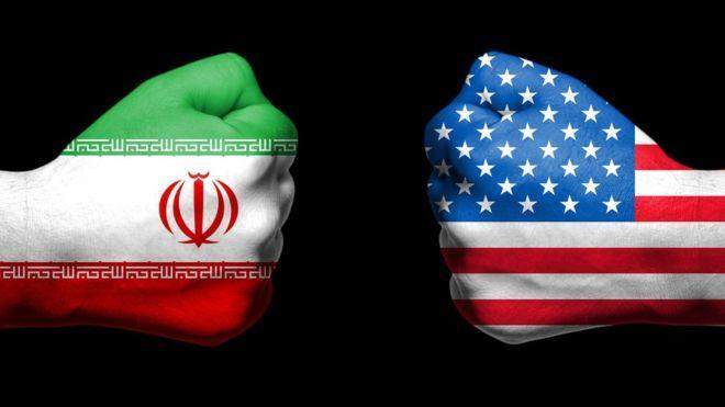 سرنگونی پهپاد آمریکایی توسط موشک ایرانی بر فراز تنگه هرمز
