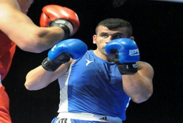 نخستین پیروزی بوکسور خراسانی در مسابقات جهانی