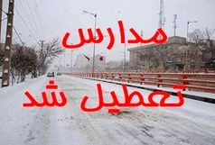 تعطیلی مدارس استان ایلام در پی طوفان و بارش شدید باران