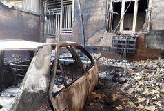 خودروی حامل بنزین یک خانه در گلشهر چابهار را به آتش کشید