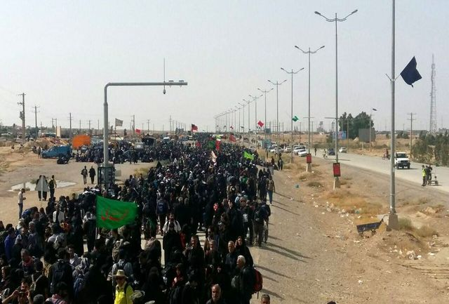 تردد یک میلیون و ۷۰۰ هزار نفر از مرز مهران