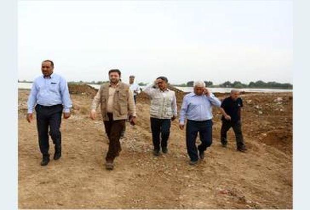 فاضلاب سطح اهواز با پمپهای لجنکش آبفای استان تهران تخلیه شد
