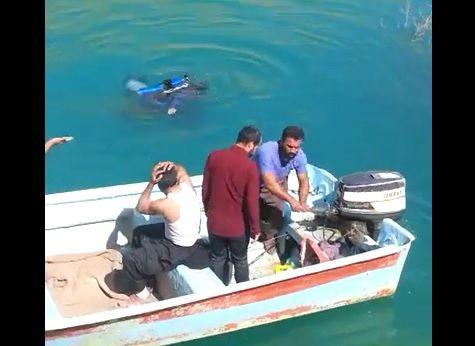اجساد دختر و پسر عاشق اندیکایی از رودخانه کارون بیرون آورده شد+فیلم