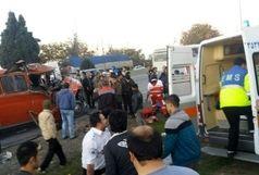 تصادف مرگبار در جاده خرم آباد/ انتقال  24 مجروح  به بیمارستان های منطقه