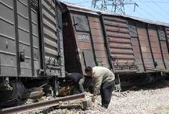 خروج ۶ واگن یک قطار باربری از خط/ راه آهن سراسری جنوب مسدود شد