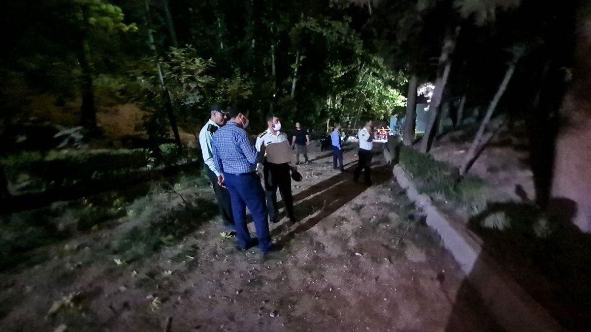 توضیحات معاون امنیتی استاندار تهران درباره حادثه انفجار در پارک ملت تهران + فیلم