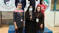 مدال نقره  ووشوکار لرستانی در مسابقات قهرمانی بانوان  کشور
