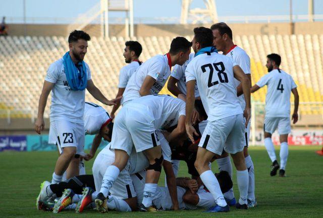فولاد خوزستان صفر _ سپیدرود رشت یک/ نخستین برد خارج از خانه در لیگ برتر