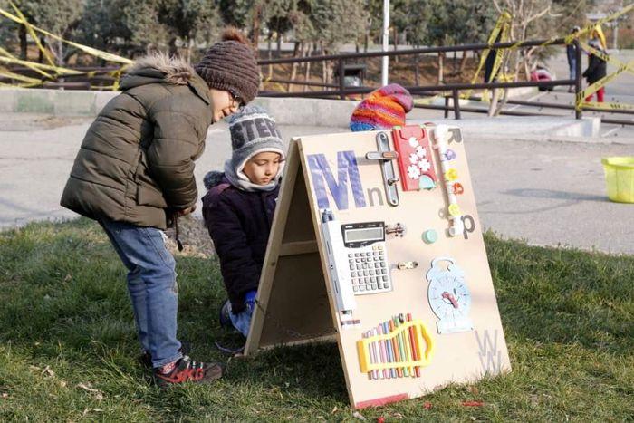 برگزاری جشنواره بازی های فکری با مواد بازیافتی