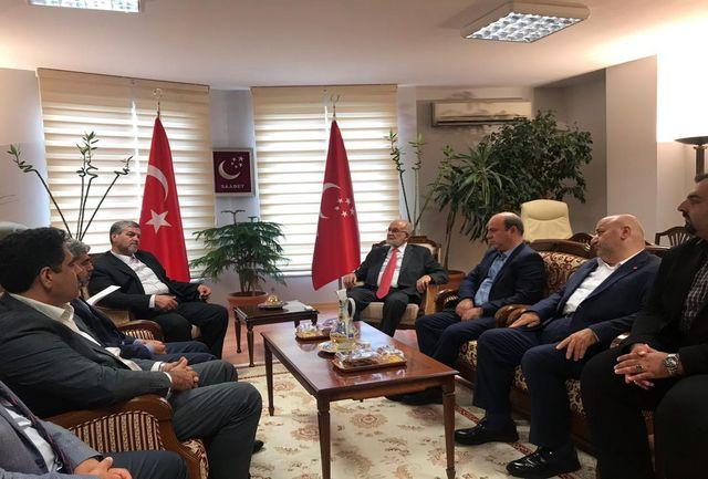 احزاب قانونی میتوانند در توسعه  روابط کشورهای منطقه کمک کنند