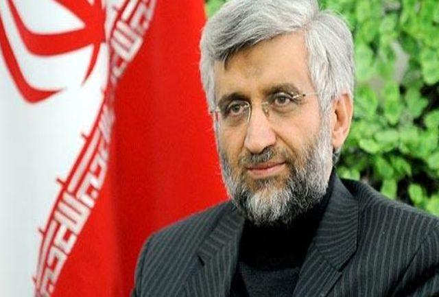 حمایت سعید جلیلی از روحانی!