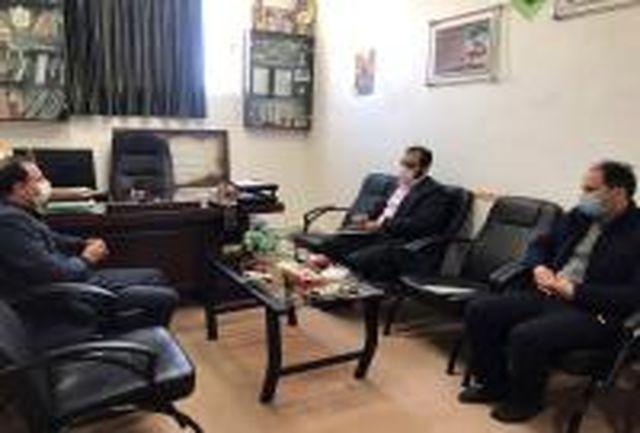 مهدی قناد با رئیس اتحادیه انجمن های اسلامی دانش آموزان خراسان جنوبی دیدار کرد