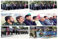 مراسم  هفته دفاع مقدس در ملارد برگزار شد