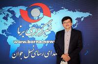 بازدید عبدالحمید احمدی از خبرگزاری برنا