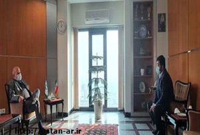 نشست استاندار اردبیل با معاون رییس جمهور و رییس سازمان حفاظت از محیط زیست کشور