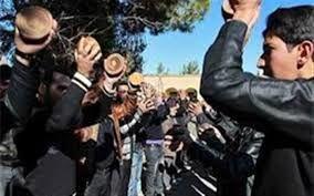 سنگ زنی از آئین های قدیمی مردم خراسان شمالی در روز عاشورا