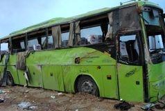 تصادف اتوبوس مسافربری با دانگ فنگ 8 مجروح برجای گذاشت