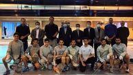 بازدید علی نژاد از تمرینات تیم ملی شمشیربازی