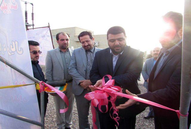 افتتاح پروژه عملیات تست و راه اندازی فیدر سیار پست نیروگاه لوشان