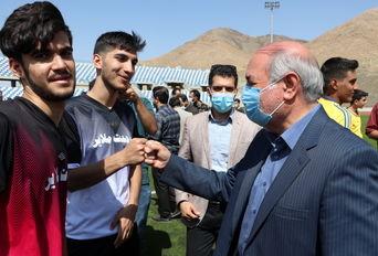 افتتاح استادیوم ۵هزارنفری شهید روحیان ملایر