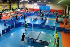 رقابت های تنیس روی میز قهرمانی نوجوانان کشور در سنندج آغاز شد