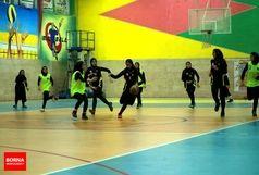 دختران بسکتبال اروند به سومین برد پیاپی دست یافتند