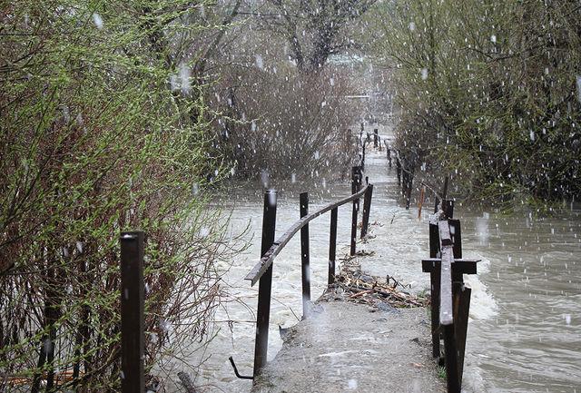 بارشها در آبان بیش از میزان متوسط