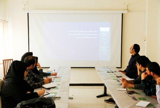 برگزاری دوره آموزشی سامانه اطلاعات مکانی یکپارچه رودخانه ها و سواحل