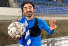 رکورد خاص ستاره ایرانی در لیگ اروپایی