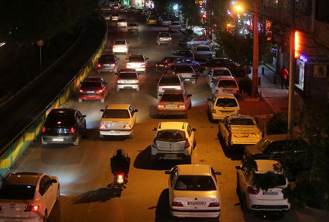 آخرین وضعیت ترافیکی خیابانهای کلانشهر اصفهان در دوران محدودیت کرونا