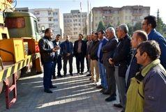 برگزاری دوره مهارتی کاروری بالابرهای هیدرولیکی در شرکت توزیع نیروی برق آذربایجان غربی