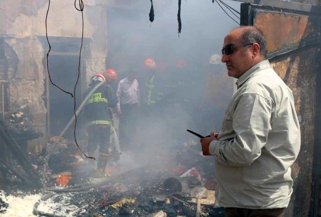 چهار کشته در حادثه آتش سوزی بهمن ۳۷  آبادان+ببینید