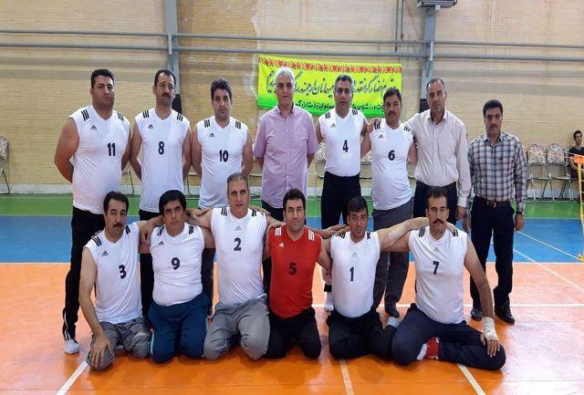 کرمانشاه میزبان مسابقات والیبال نشسته منطقه چهار کشور شد