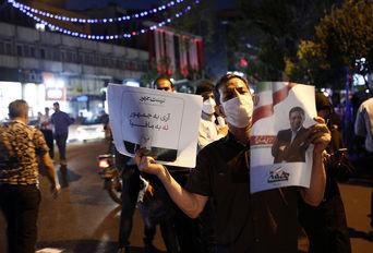 تجمع حامیان عبدالناصر همتی در میدان ولیعصر(عج)