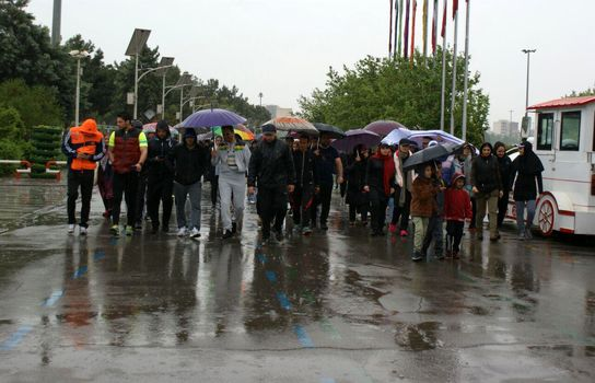 اولین همایش پیاده روی ورزش همگانی کراس فیت استان تهران