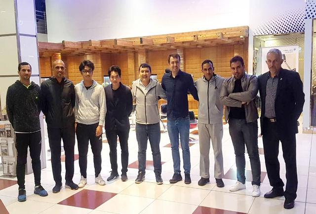 هیات داوری و برگزاری مسابقه وارد تهران شدند